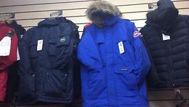 Men's coats Canada goose, stone island ect