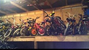Lot de 50 vélo pour enfants 12po,14po,16po,20 pouces