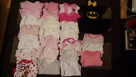 Girls clothes 0-3 month