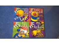 4 Glitter (Busy Bugz) Boxed Books