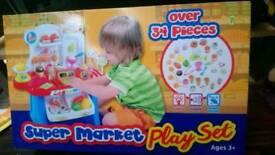 Super market play set