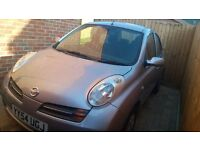 Fantastic micra, cheap to run and insure 1 year MOT and recently serviced..