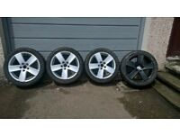 VW / Audi / Skoda etc Monte Carlo 5x112 Alloys Passat Sport (x4) - Good Condition