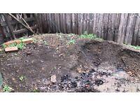Garden soil for free