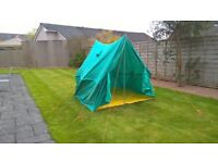 Vintage Green Canvas Tent