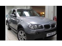 BMW X3 for sale cheap due to damage wing/headlight..Good condition