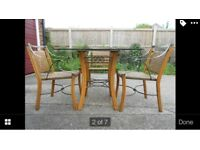 Kitchen Dining table & 4 chairs