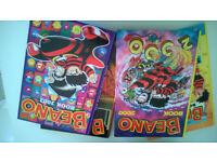 The beano annual book 1998, 2000, 2001 & 2002