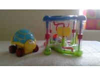 Baby/toddler activity toy and toy tortoise bundle