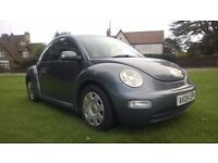 **12 MONTHS MOT** 2004 VOLKSWAGEN BEETLE 1.6 3 DOOR HATCHBACK **CAMBELT+WATERPUMP CHANGED**