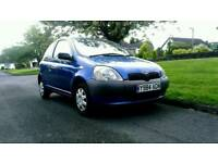 2001 Toyota Yaris - family owned from new