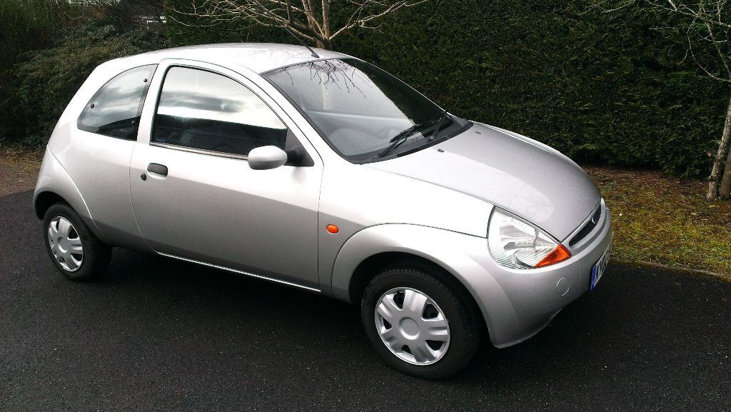 ford ka style 2002 silver free sat nav in andover hampshire gumtree. Black Bedroom Furniture Sets. Home Design Ideas