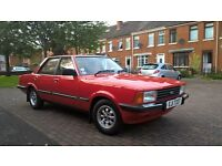 1980 ford cortina auto red one owner