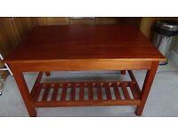 Solid Oak Table/Desk