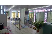 Hair & Beauty Mall to let on high foot fall area Derby DE1 Viewing is highly recommended.