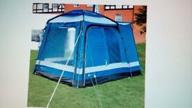REDUCED £75 Free standing motorhome awning still boxed