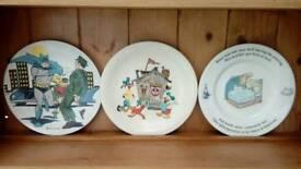 Three classic plates