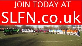 MENS SUNDAY 11 ASIDE FOOTBALL TEAM LOOKING FOR PLAYERS. 8JN