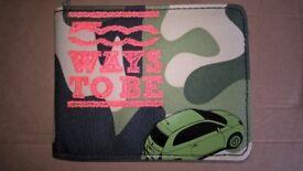 FIAT 500 branded Wallet
