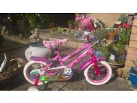 Girls bike suit age 2-4