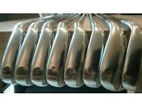 Taylor made tour burner golf clubs