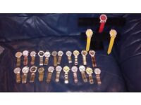 25 brand new watch and stand for sale