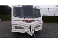 2014 Bailey Unicorn Barcelona 4 Berth Caravan