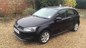 61 Plate - Black Volkswagen Polo - Good condition