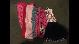 9-12 month girls clothes bundle.