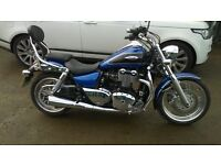 2013 (63)TRIUMPH THUNDERBIRD 1600cc CUSTOM CRUISER SHOWROOM CONDITION