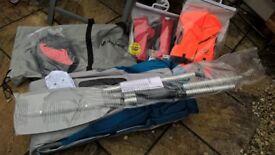 Sevylor Adventure Inflatable Canoe Kit (unused & Life jackets