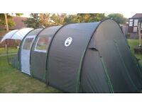 Coleman Coastline 6 man Deluxe tent - Excellent condition