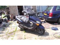 Yamaha Majesty w reg starts run well 125cc NO MOT
