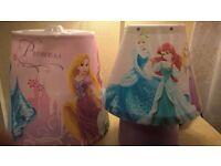 Disney Princess Lampshade & Bedside lamp