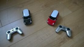 Radio Controlled Toy Cars - Mini Coopers