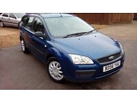 LOW MILEAGE FORD FOCUS 1.6 L & NEW MOT AND SERVICE ON SALE