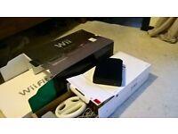 Nintendo Wii Fit Plus Pack Bundle Black Console board motion plus