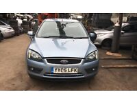2005 Ford Focus Zetec Climate 5dr 1.6 Petrol Blue BREAKING FOR SPARES