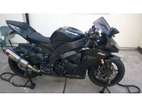 09 Reg Kawasaki zx10r low millage and in clean condition