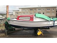 16 foot fishing / day boat for sale