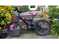 "Boys bike - star wars darth maul design - 16"" wheels"