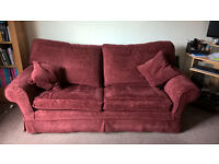 MULTIYORK LARGE SOFA BED COMLETE WITH SPARE COVERS