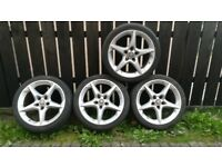 18 inch Penton alloy wheels 5 stud