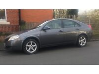 NISSAN PRIMERA FLARE 5 DOOR HATCHBACK 2006 06 PLATE MOT END MARCH TEL 07455522406