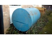 diesel or water bowser tank and stand