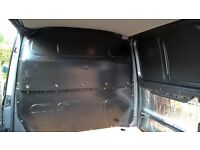 VW T5 Steel Bulkhead in good used condition - Black