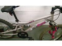 Girls Duel Suspension Bike