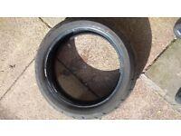 Bridgestone rear tyre 180/55/17