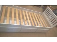 Brand new Amani Mission 3FT Single bed with 3 x drawers LOOK