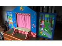 Very Large & Unusual Vintage style Puppet Theatre, For Sale ( Wooden ) £45.00